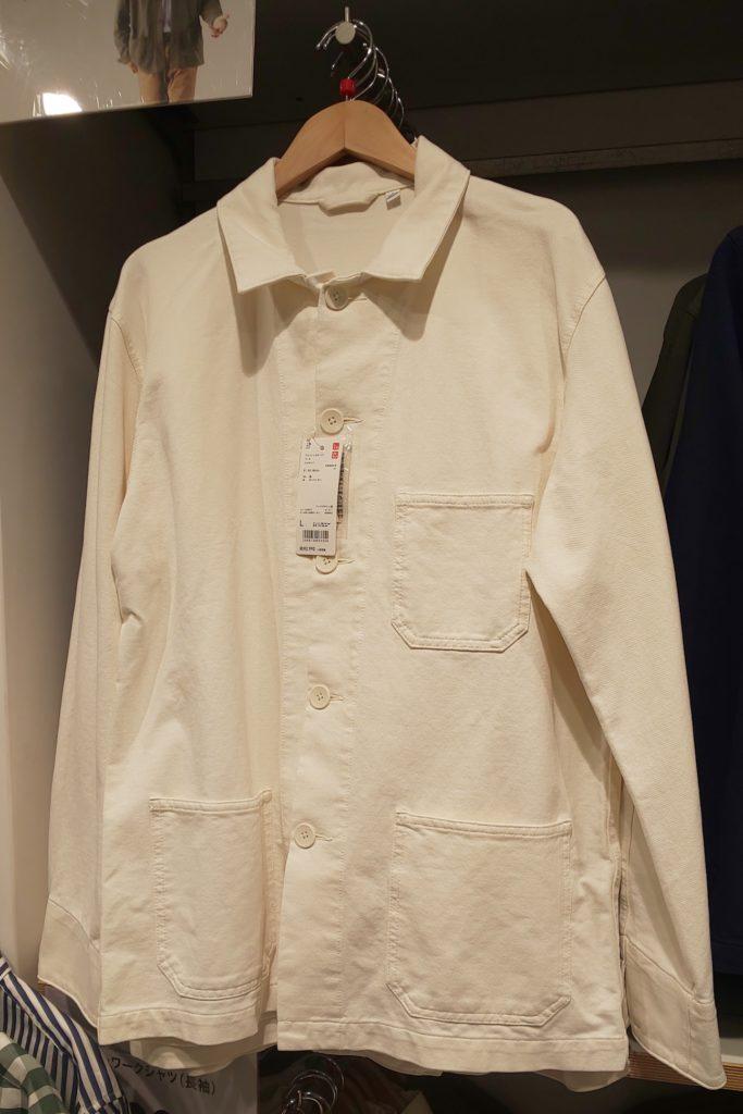 ユニクロオーバーサイズシャツ