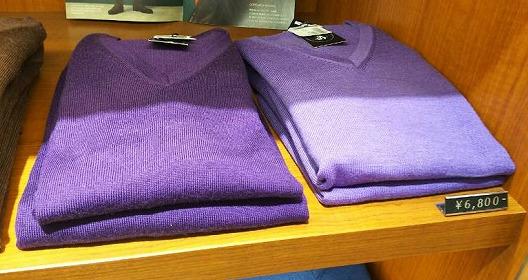 パープルのTシャツ3