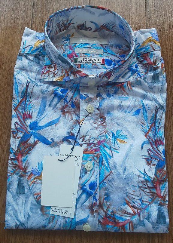 HIGH STREET LEGGIUNOフラワープリントシャツ ¥24,840税込