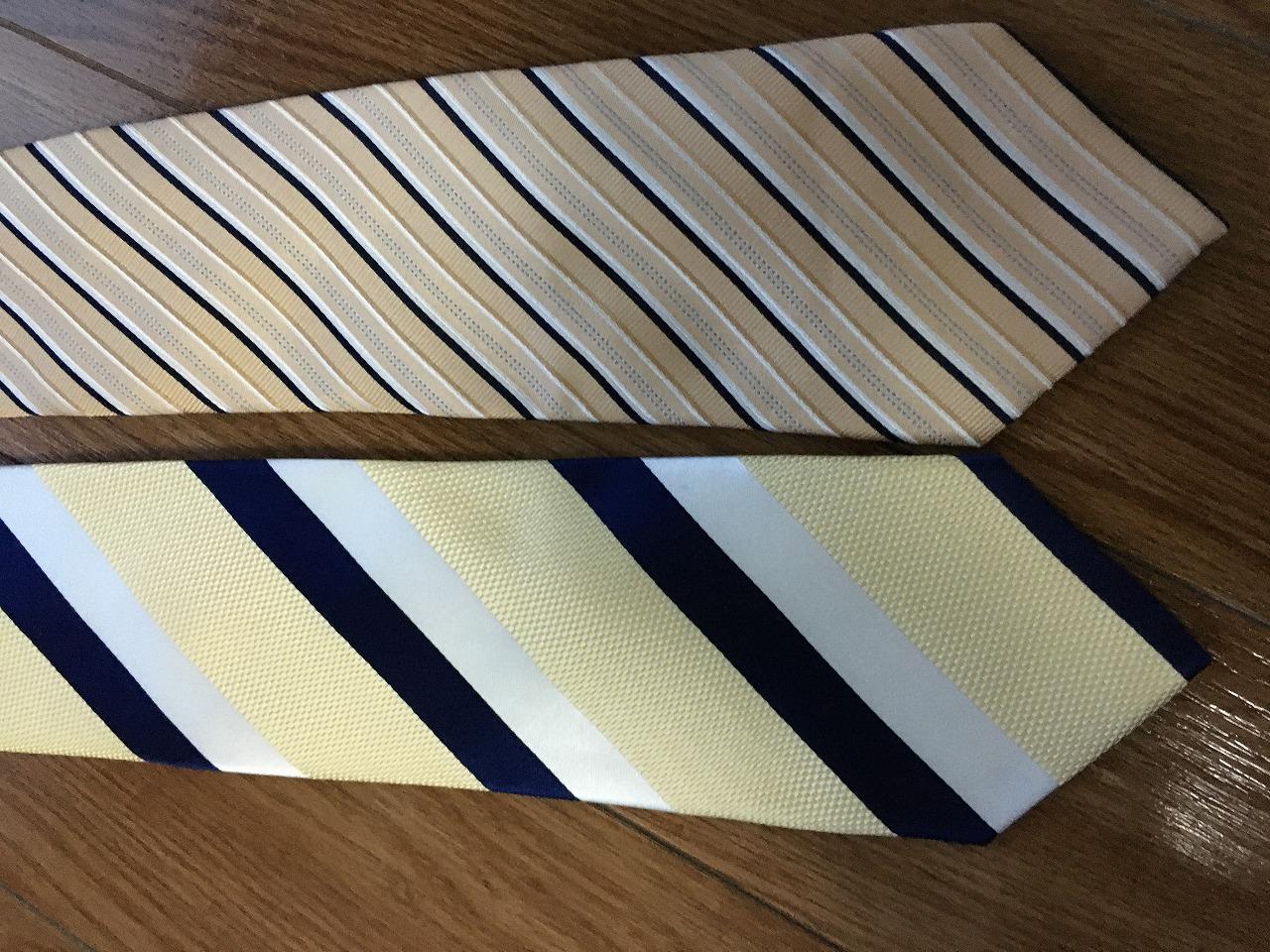 いいネクタイ、悪いネクタイ