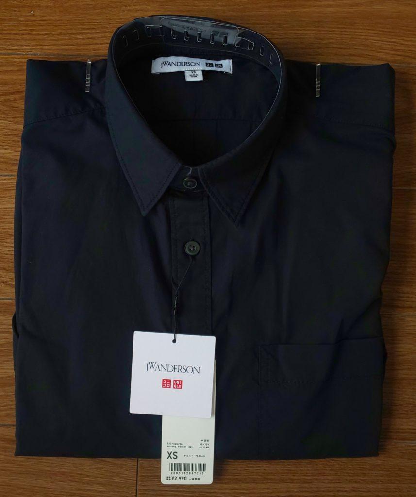 ユニクロエクストラファインコットンブロードオーバーサイズシャツ