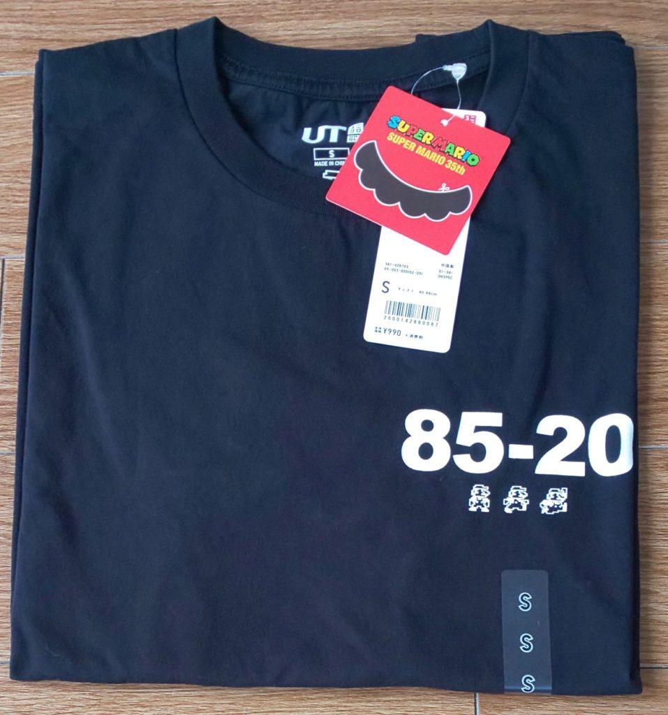 ユニクロ スーパーマリオ 35周年 UT(半袖・レギュラーフィット)990円(税抜)