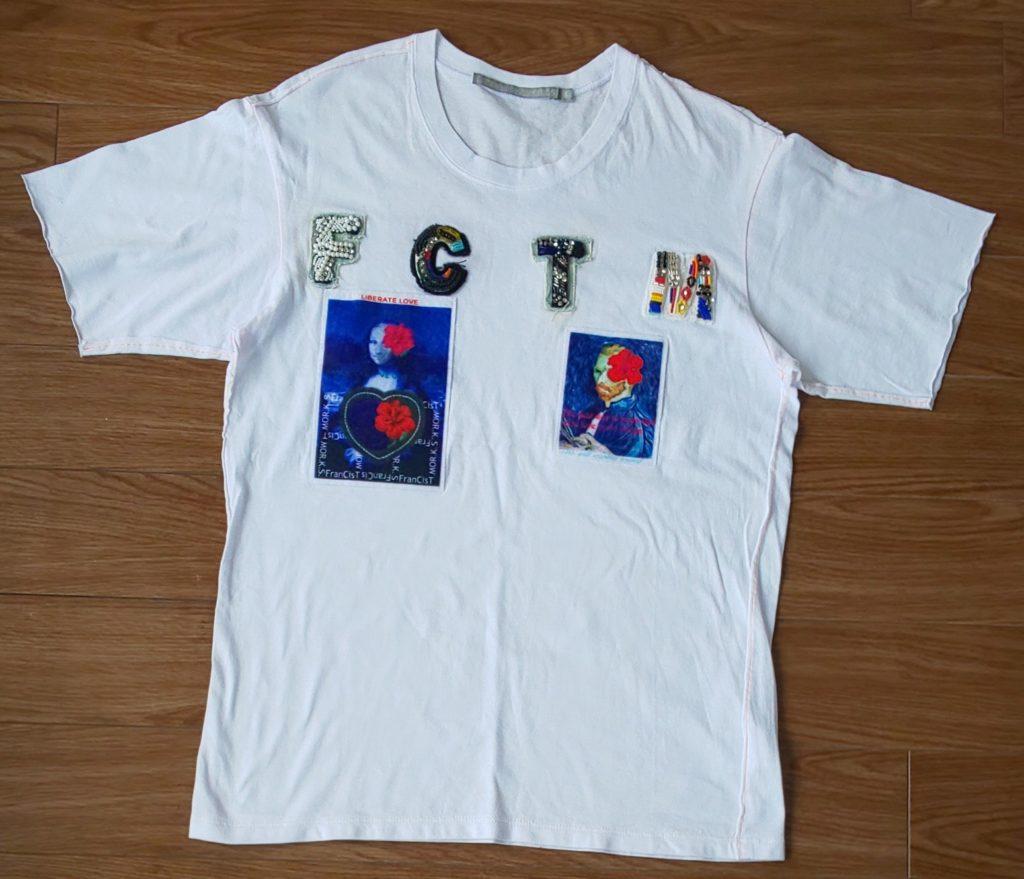 FranCisT_MOR.K.S. 【RAWLIFE限定】『Safari 9月号掲載商品』FranCisT_MOR.K.S./フランシスト モークス/ART inspired FCTM TEE 12,800円(税抜)
