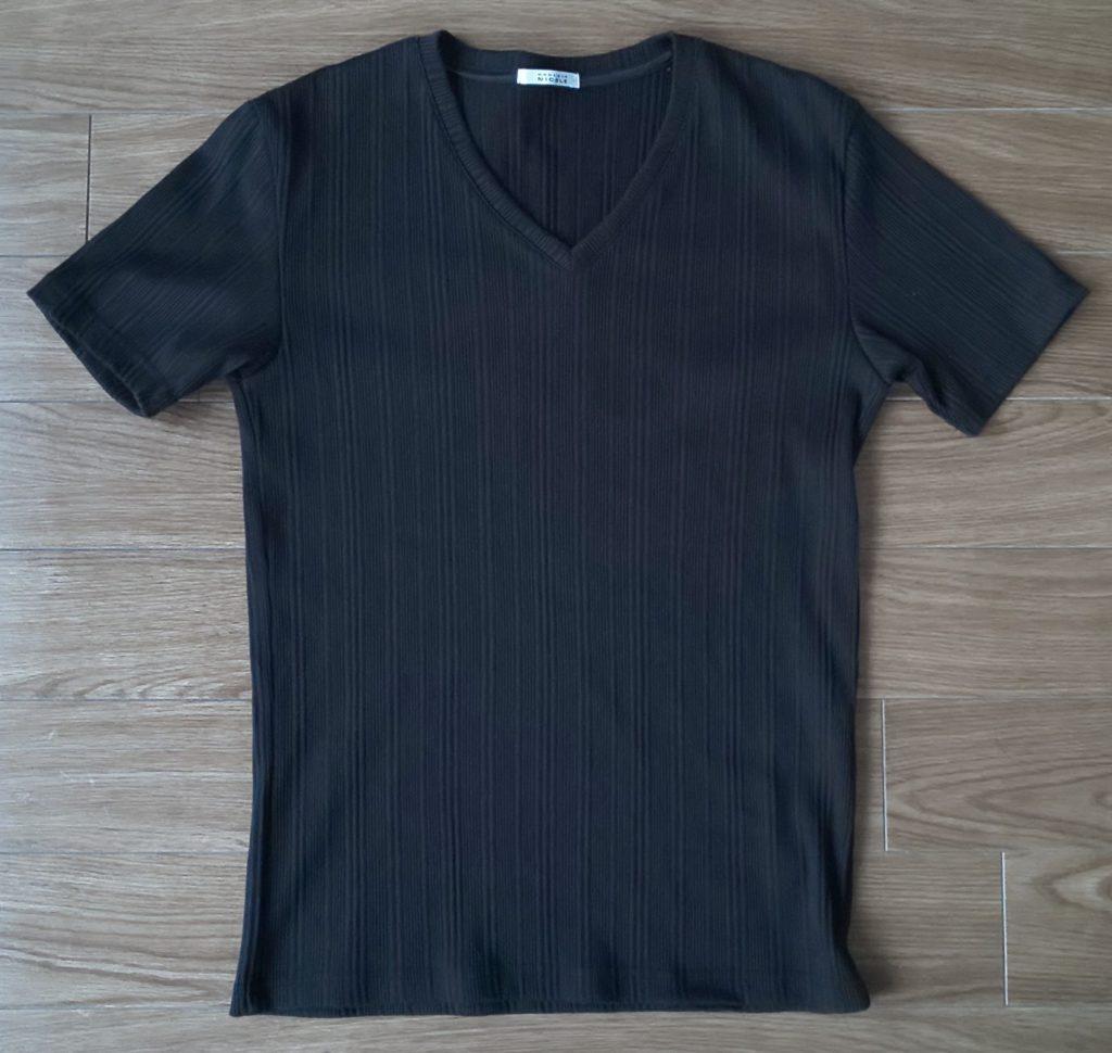 ブランド名:MONSIEUR NICOLE 半袖VネックTシャツ ¥4,620