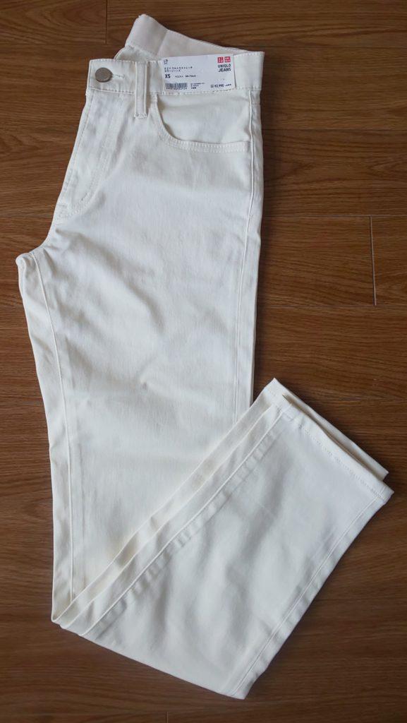 EZYウルトラストレッチカラージーンズ(スキニーフィット・丈標準76~79CM)NATURAL ¥2,990(税抜)