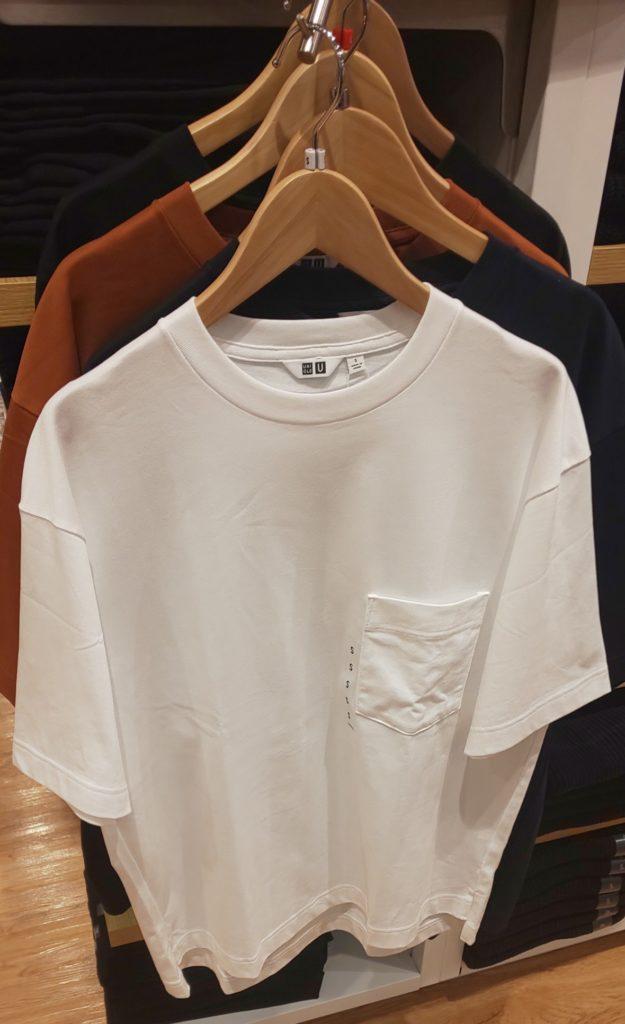 オーバーサイズ クルーネックT(半袖)1,500円