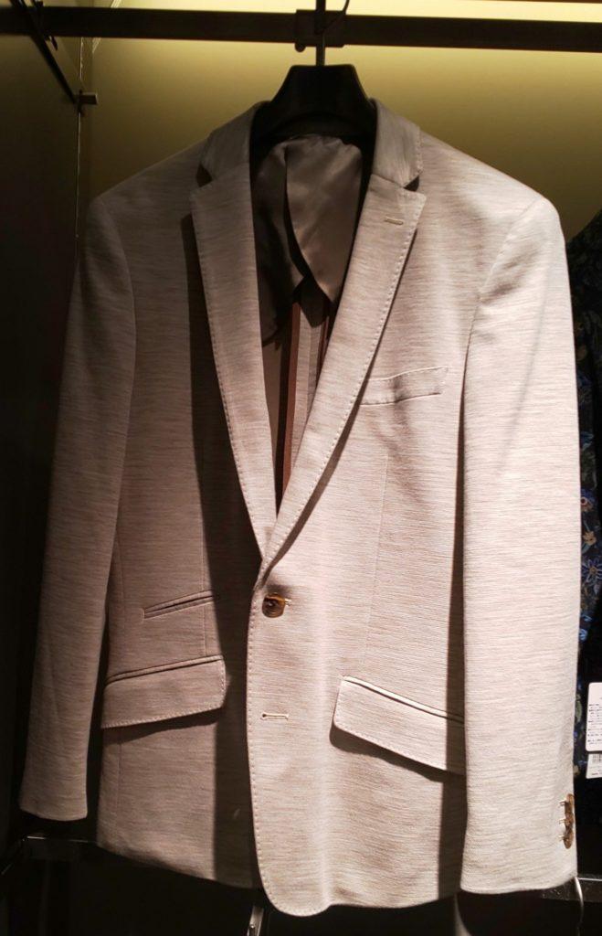 HIGH STREET∴綿麻Wフェースジャージジャケット ¥37,400税込