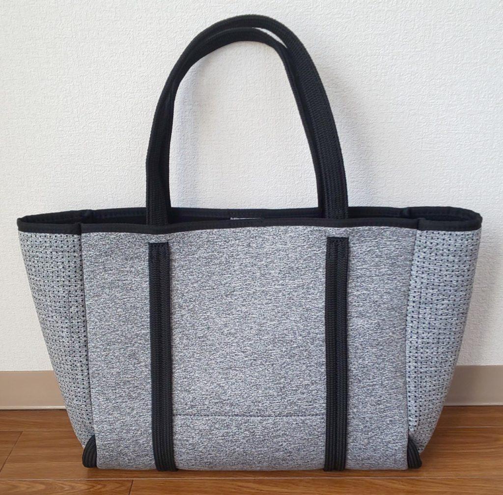 スーツカンパニ― ネオプレントートバッグ グレー×ブラック 5,800円(税抜)