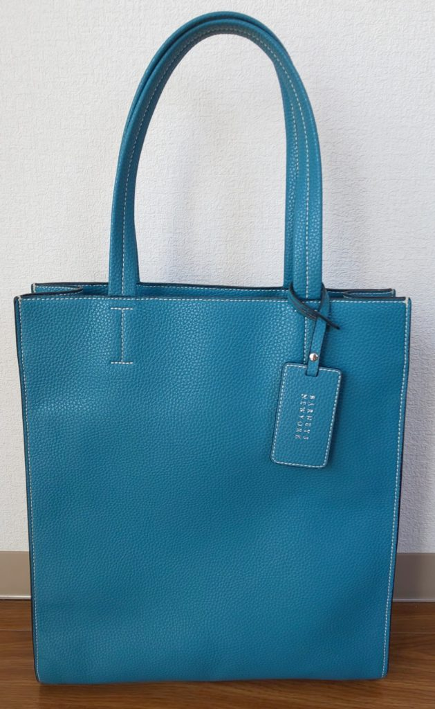BARNEYS NEW YORK 18SS PL ALPHA BAG MICROFIBER TOTE 26,000円(税抜)
