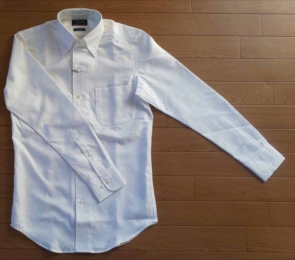 MEN'S BIGI クリスタルシルサーグレンチェックドレスシャツ 13,000円(税抜)