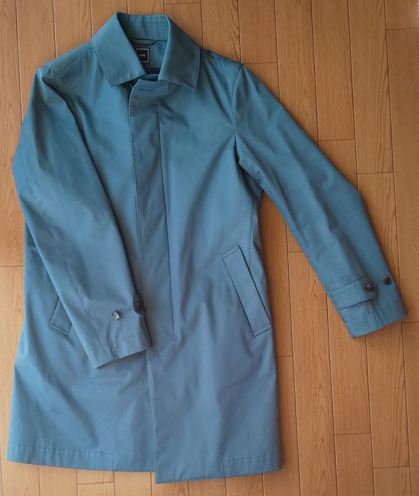 SHIPS SD: LORO PIANA 【STORMSYSTEM】 コットン ステンカラーコート(ブルー) ブルー 50,000円(税抜)