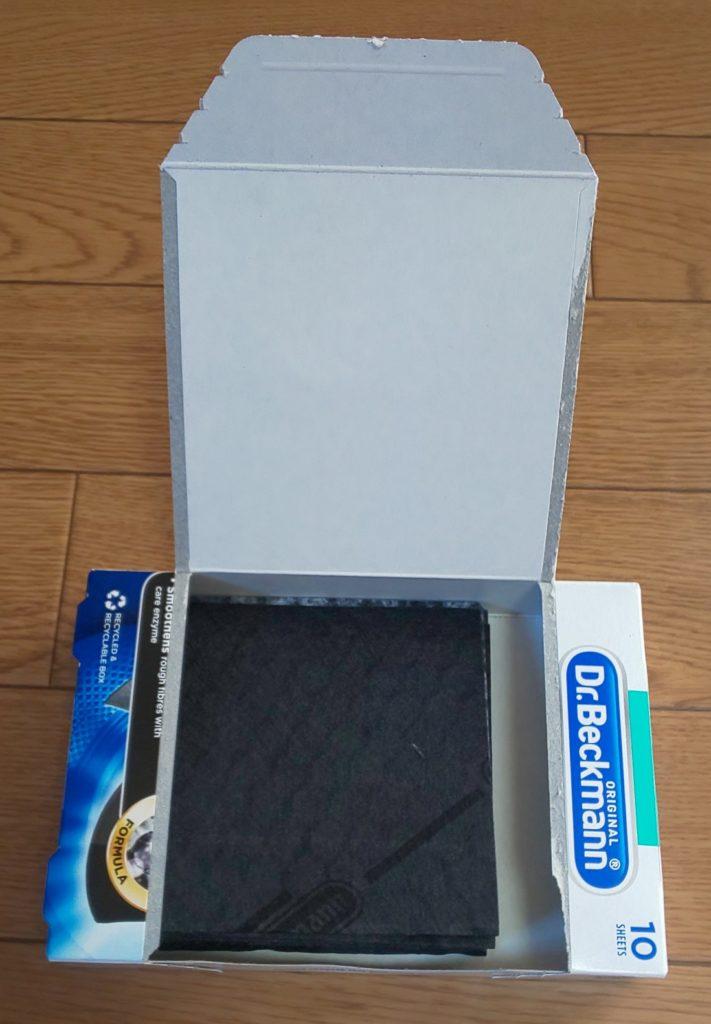 ドクターベックマン ブラック&ファイバーリフレッシュ 黒復活シート 1,155円(税込)
