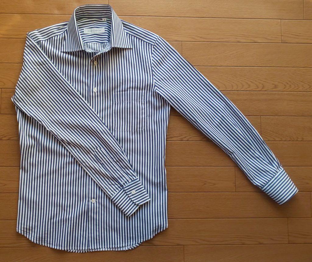 スーツカンパニー ロンドンストライプシャツBBE008-AF¥5,800円(税抜)