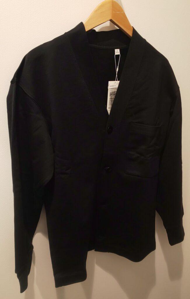 ユニクロ スウェットカーディガン(長袖)(ブラック) 3,990(税抜)