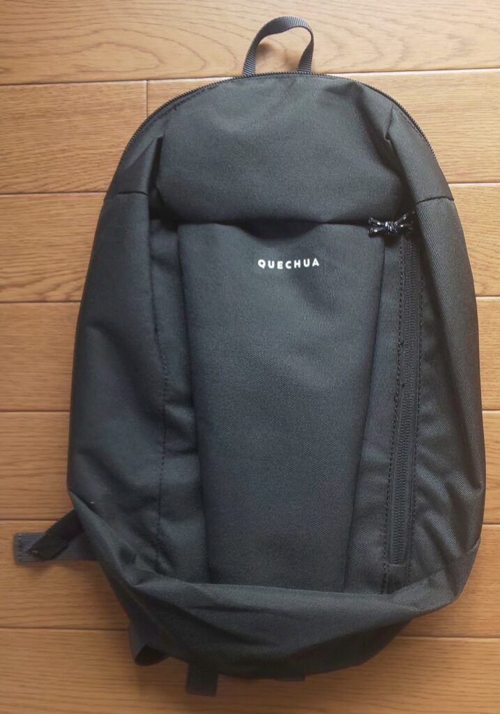 デカトロン QUECHUA(ケシュア)登山・ハイキング バックパック・リュック NH 100 - 10L ブラック 490円(税込)
