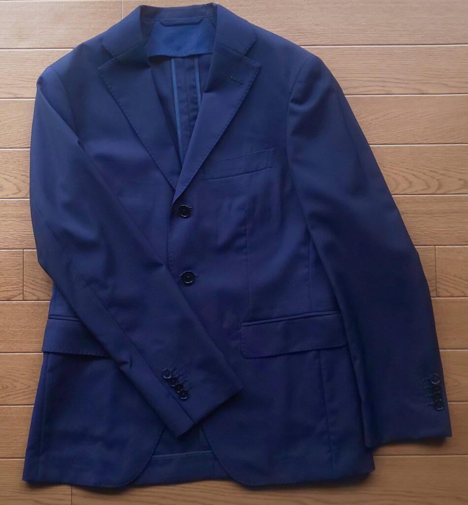 スーツカンパニー REDA ATTO Super110's トロピカル ブルー