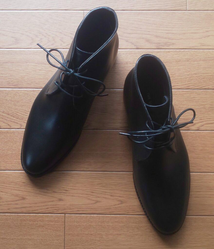 スーツカンパニー PVCチャッカ―レインブーツ ブラック 10,780円