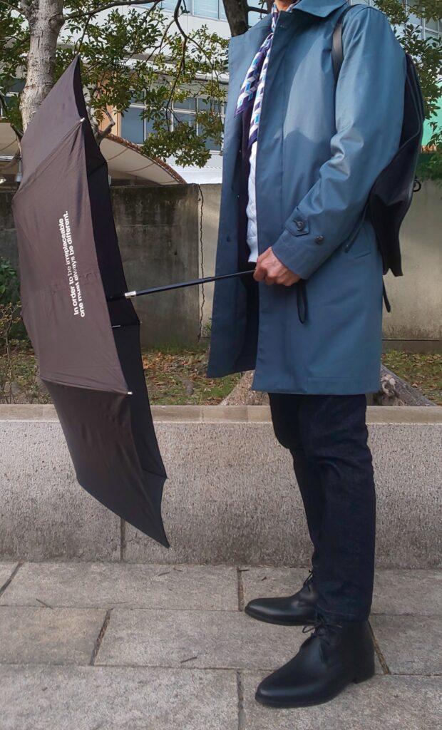 雨の日コーデ(冬)
