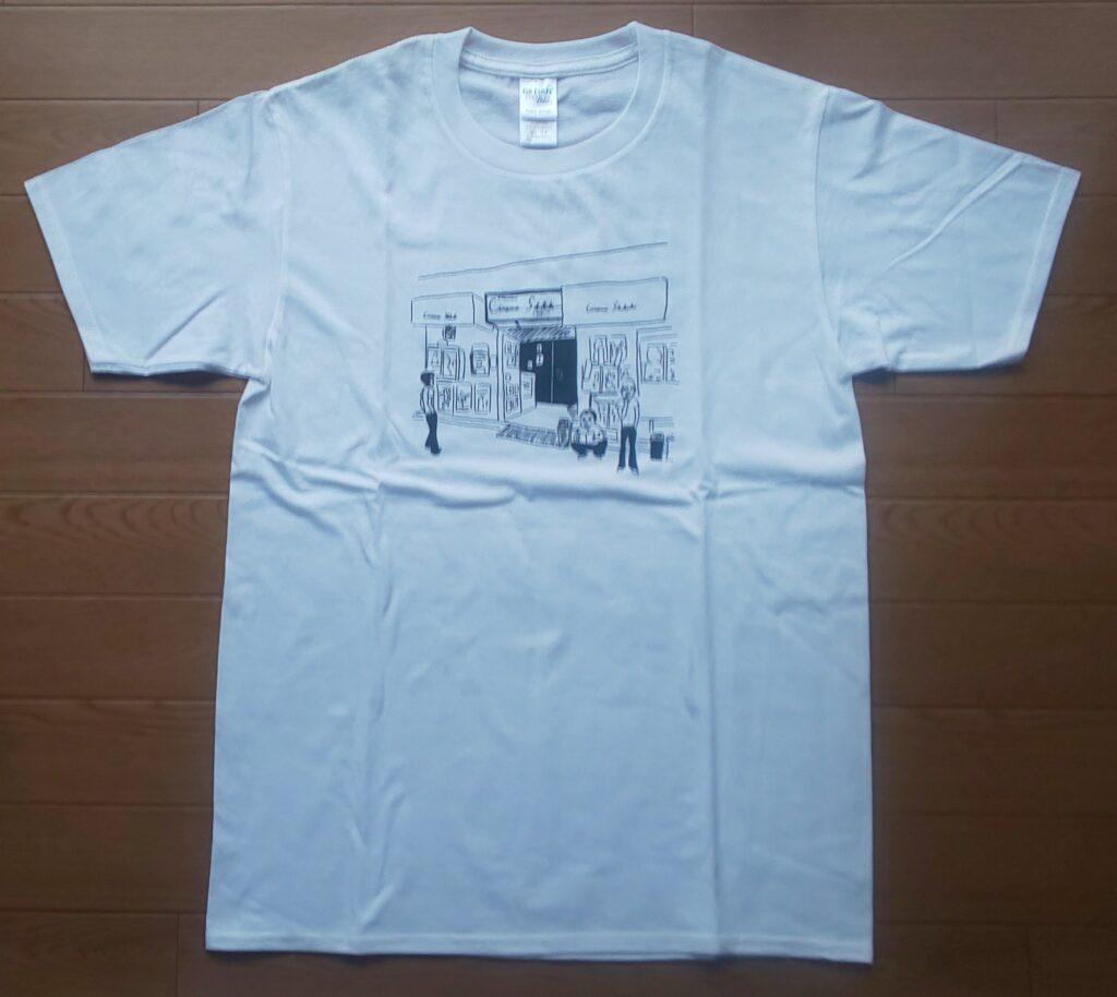 【『音楽』×シネマスコーレ コラボTシャツ】 3,000円(税込)
