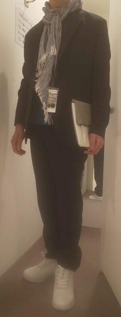 感動ジャケット&パンツ セットアップ