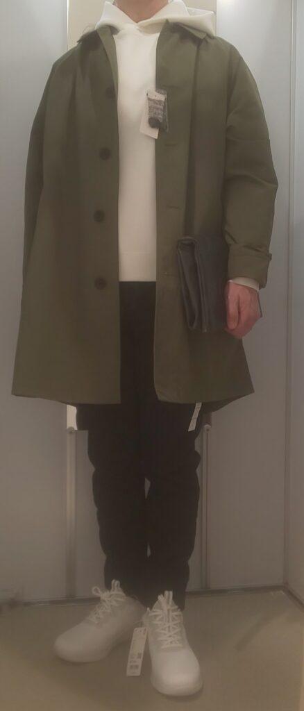 ウルトラストレッチドライスウェットプルパーカ(長袖)オフホワイト