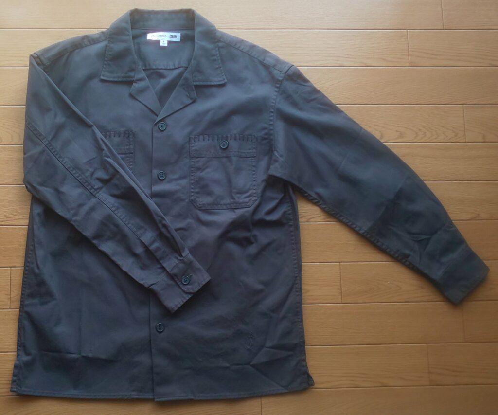 ユニクロ ツイルオーバーサイズワークシャツ(長袖)3,990円