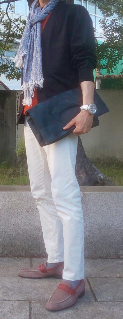 初秋カーディガンコーデ(2021)