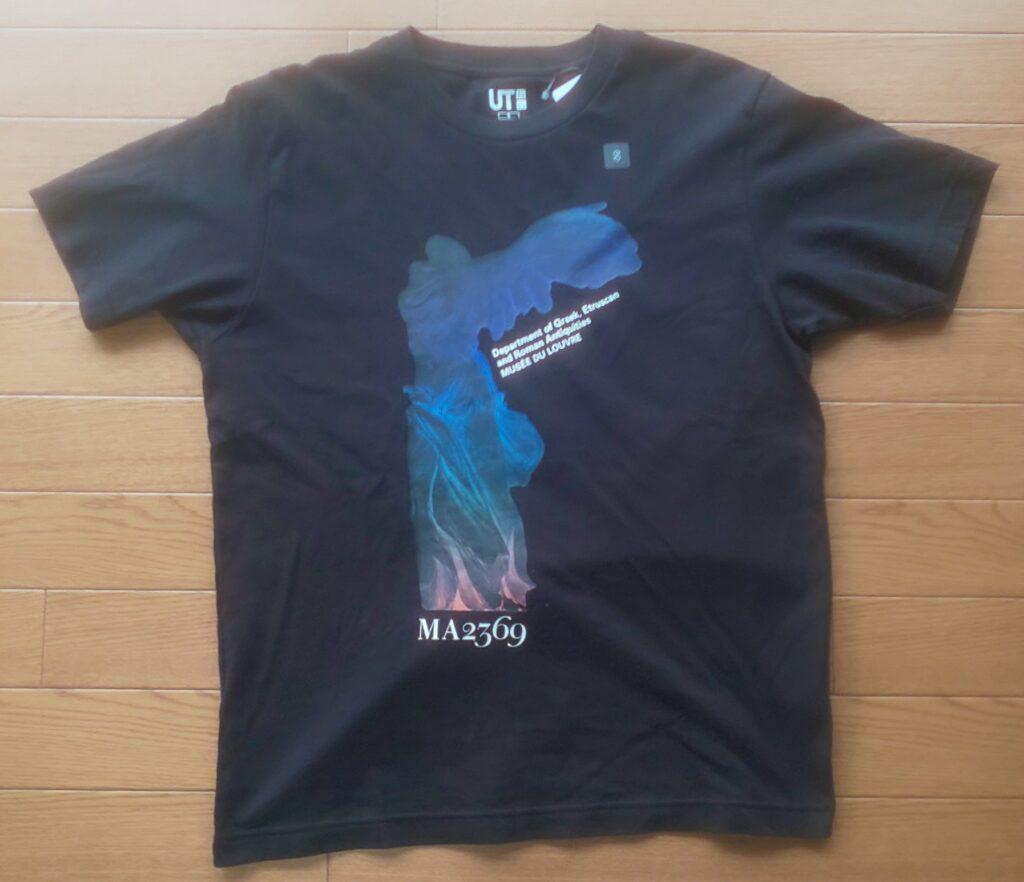ユニクロ ルーヴル美術館:アート アンド ロジック by ピーター・サヴィル UT グラフィック Tシャツ(半袖・レギュラーフィット) 1,500円