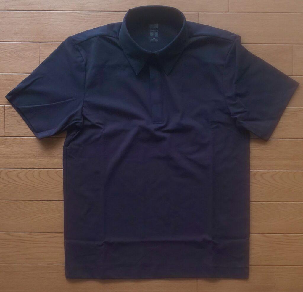 ユニクロ エアリズムスリムフィットポロシャツ(半袖)ネイビー 2,990円