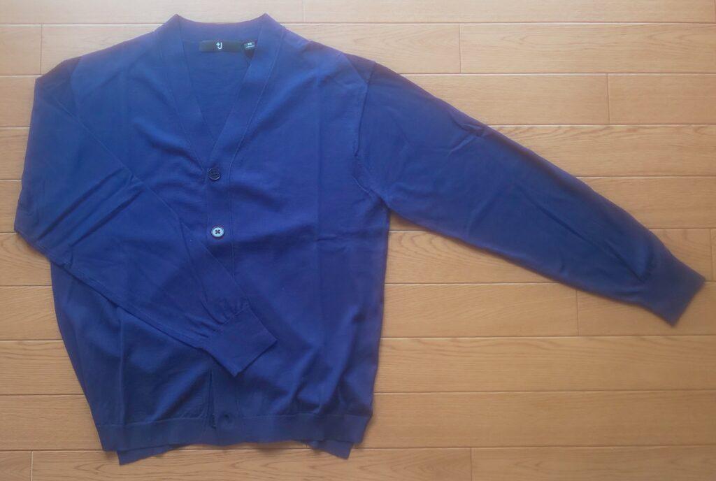 ユニクロ+J シルクコットンVネックカーディガン(長袖)6,990円