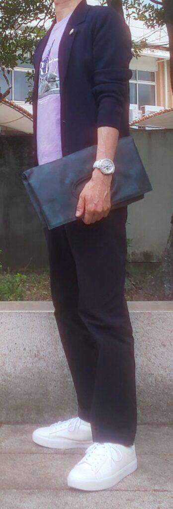 ミラノリブジャケットコーデ(2021)