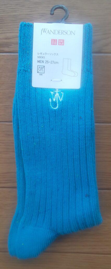 ユニクロ ソックス(ブルー)390円