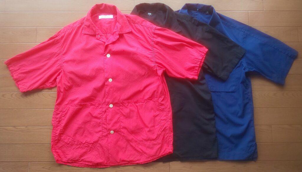 2021 オープンカラーシャツ 3色