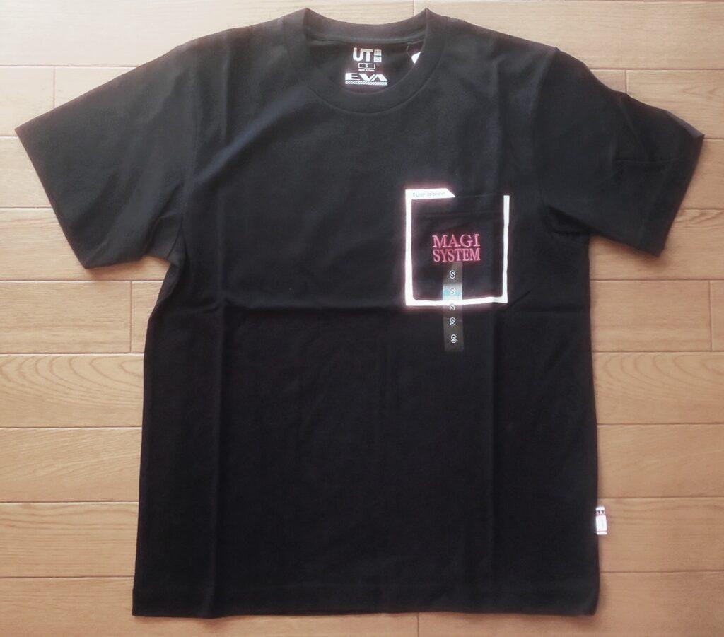 エヴァンゲリオン UT(半袖・レギュラーフィット) BLACK